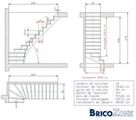 plan escalier quart tournant image gallery plans d escaliers