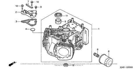Honda Engines Gxv Qae Engine Jpn Vin Gjad
