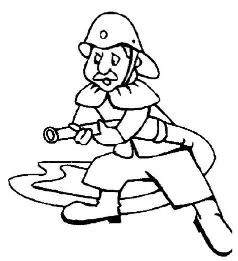 carte chambre des metiers coloriage metiers pompiers à colorier allofamille