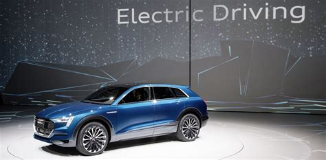 Audi Confirms Allelectric Etron Quattro Suv 'starting
