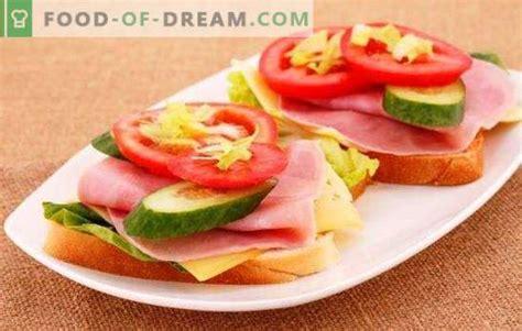 Sviestmaizes ar desu, sieru un tomātiem - elementāras un ...