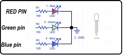 Rgb Led Interfacing With Pic Microcontroller Multi Color