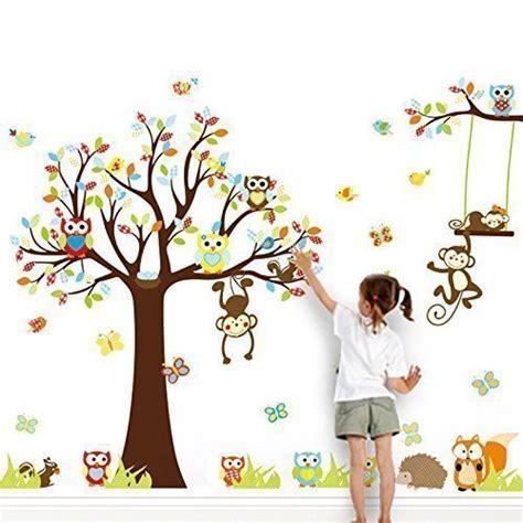 Kinderzimmer Ideen Für Mädchen Eule by Wandtattoo Eule Mit Schaukel