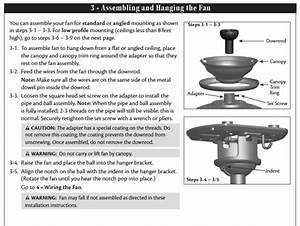 Hampton Bay Ceiling Fan Removal Instructions