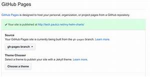 Helm Chart Repository Creating A Helm Chart Repository Part 1