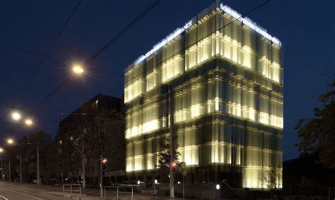 naturally ventilated glass building