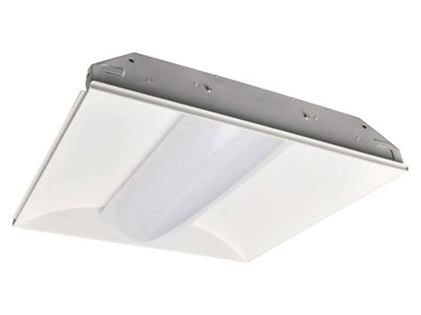 naturaled dimmable 19 5 watt 4000k 2 x2 led recessed