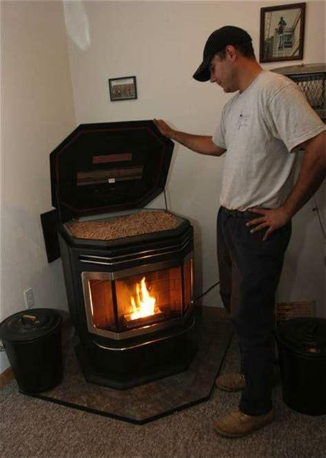 furniture contemporary home design  pellet stoves
