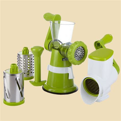 Kitchen Master Rotary kitchen master all in one rotary grater slicer new ebay