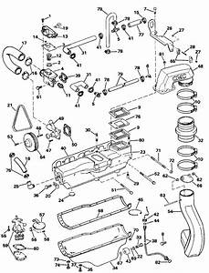 Omc Stern Drive Cooling  U0026 Oiling Parts For 1993 3 0 L