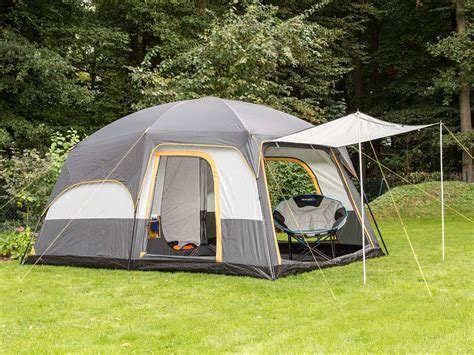 tente familiale 2 chambres skandika tonsberg 5 person layer tent with sewn