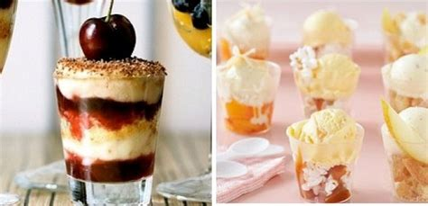 glass served desserts i shot glasses not just for shots celebrations at home