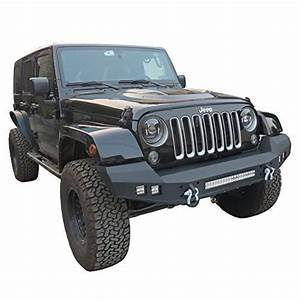 Ronghui Front Bumper Texture Black With 4 X 18w And 1 X