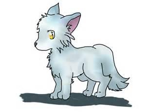 Ice Fox Anime Drawings