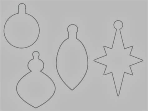 christmas ornament outlines printable search results for outline shape calendar 2015