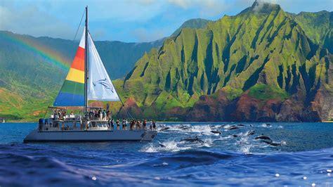 Kauai Boat Tours blue dolphin kauai niihau na pali coast boat tours