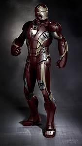 Geek Art Gallery: Concept Art: Iron Man Mark XLII