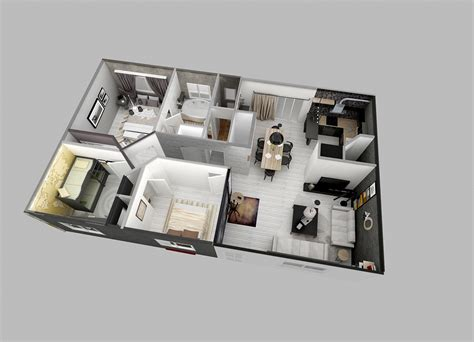 25 Two Bedroom Houseapartment Floor Plans by 25 Two Bedroom House Apartment Floor Plans 2 Bedroom