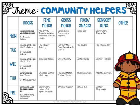 community helpers preschool lesson plans 441 best images about community helpers transportation 587