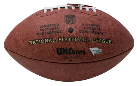 Peyton Manning Signed Official Nfl The Duke Game Ball