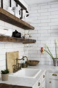 home interior shelves modern industrial home decor rustic style interior design