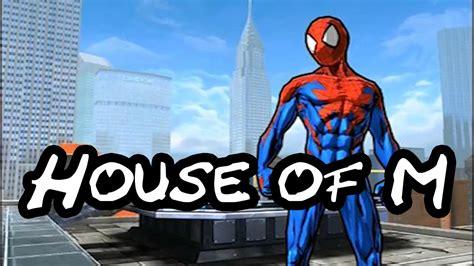 spider man unlimited house   suit overviewshowcase