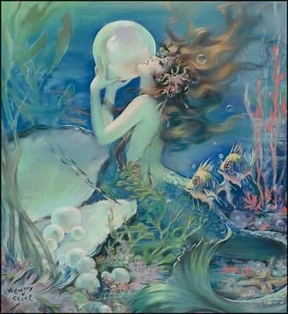 Mermaid Sea Maid Siren Sapphire Dreams