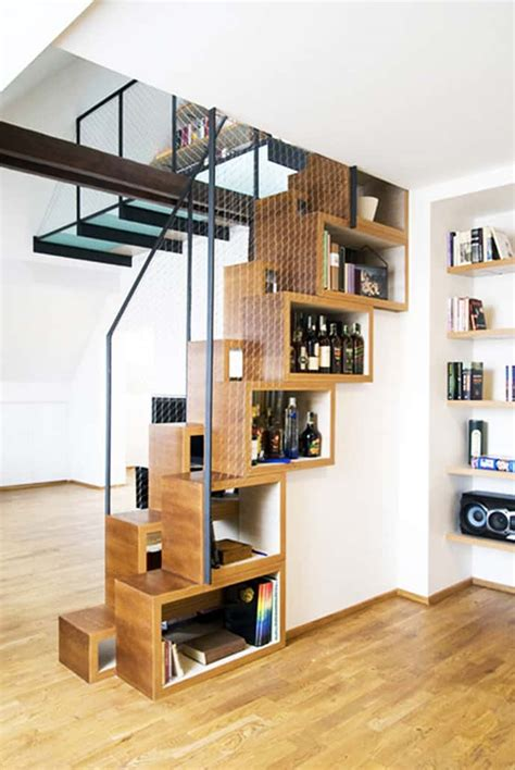 stair shelving over 30 clever under staircase storage space ideas and solutions