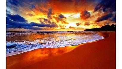 Sunset 4k Beach Desktop Wallpapers Ultra Nature