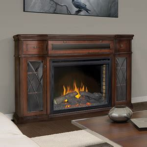 mahogany media console colbert electric fireplace media console in antique 3966