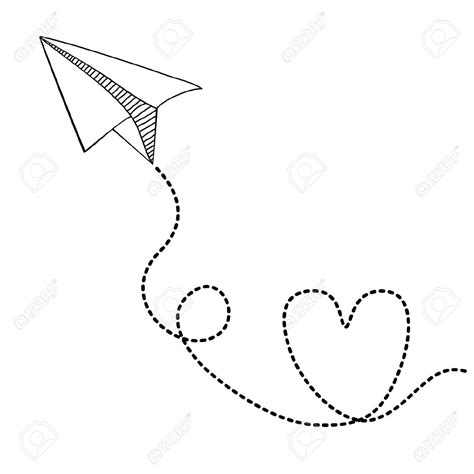 Paper Plane Drawing Tumblr Paper Airplanes Drawings Paper