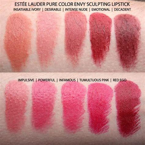 color envy estee lauder color envy lipstick part i swatch
