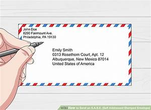 How to send an sase self addressed stamped envelope for How to send a shipping label to someone