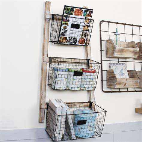 Hanging Wire Basket Shelves Home Ideas