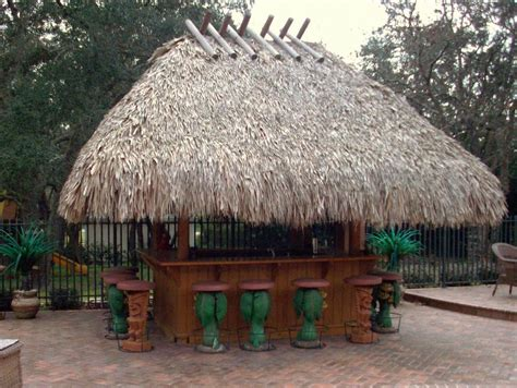 [ Tiki Hut ]  The Following Tiki Hut Pictures Show Some