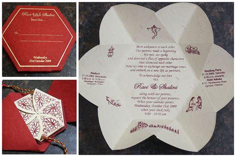 Unique Indian wedding invitation cards designs and Ideas