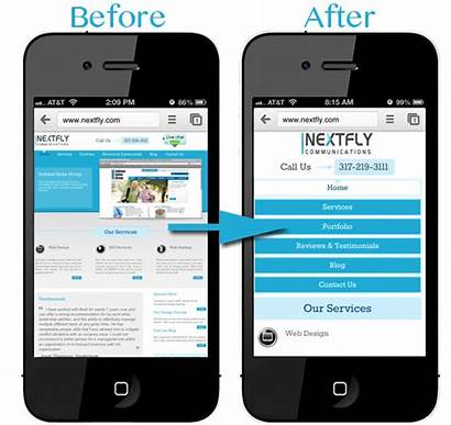 Mobile Web Website Site Email Confirmation Optimized