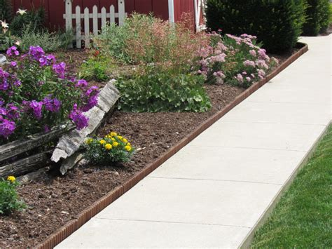 garden border edging landscape edging eco green wood products