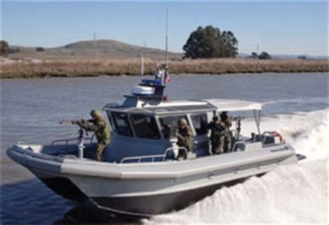 Moose Boats by Moose Boats Delivers Four M2 35 Security Patrol Boats To