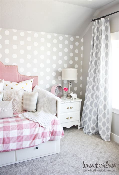 pink walls bedroom pink and gray s bedroom honeybear 12894