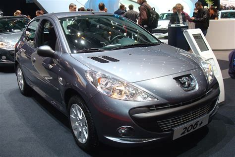 peugeot france automobile peugeot 206 france salon de l auto 2010 119 voiture de