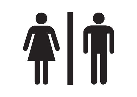 Logo Toilet Pria dan Wanita Vector Free Logo Vector Download