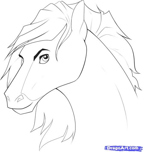 step    draw horse heads