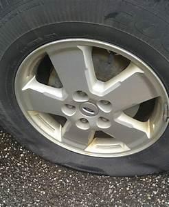 Scrap Metal Causes Flat Tires