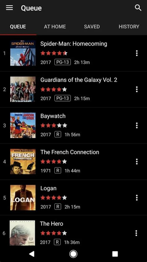 netflix s dvd app finally makes its way to android