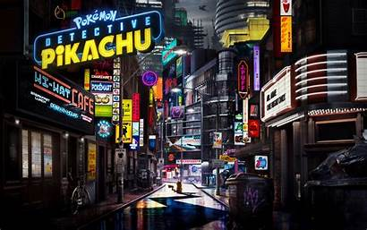 Pikachu Detective Animation Pokemon Background 4k Pokemon