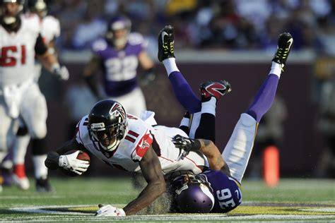 falcons  vikings  game time tv schedule
