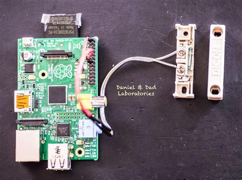 raspberry pi door sensor diy home security system using raspberry pi