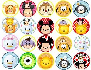 153 best tsum tsum printables images on pinterest With kitchen cabinets lowes with edible stickers for cookies