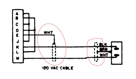 Schematic Power Cable Wiring by What Do These Dashed Dotted Lines In This Power Cord